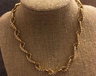 Swarovski Crystal Cocktail Necklace