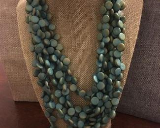 Fabulous Soft Turquoise Statement Beads