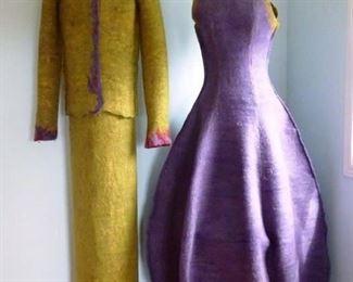 Original Nordstrom Felted Wool Window Display Mannequins.