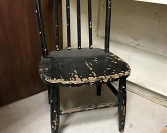 Primitive child's chair