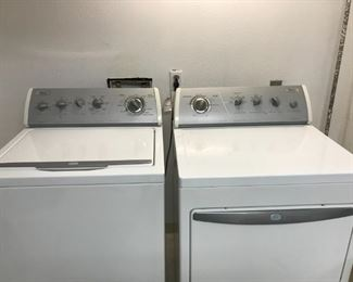 Whirlpool Ultimate Care Washer and Dryer