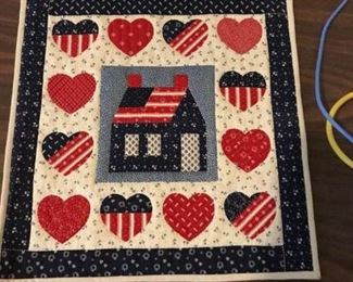 All American Quilted piece