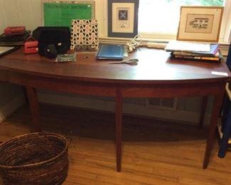 This Moser Radius Desk - Signed Original with 3 drawers