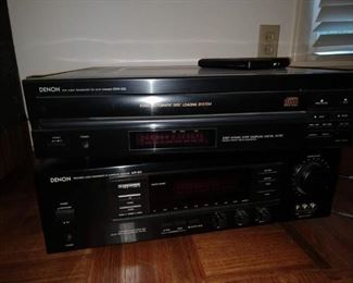 OBO $50 for the two pieces  OBOdenon avr 610 sound receiver and 5 disc disk player