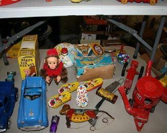 Variety of Tin toyssss