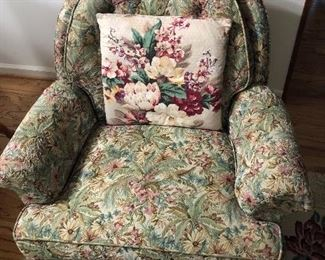 Vintage sweet fabric chair
