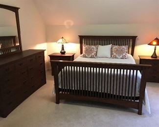 Mission style Master Bedroom set