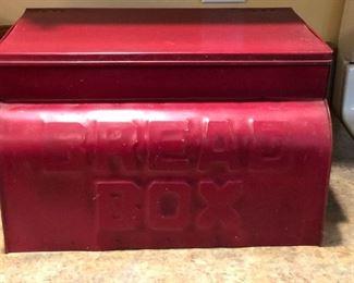 Old bread box