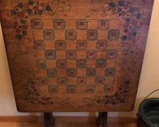 Tilt game table