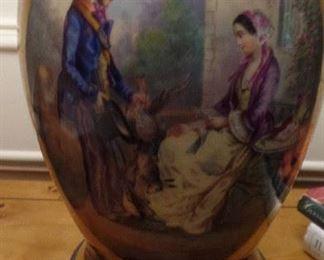 Pair of Old Paris Vase Lamps, $1,500 for pair