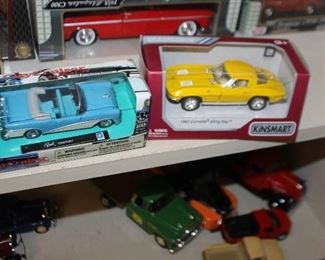Two Chevy Diecast Cars