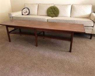 Mid Century coffee table, solid wood