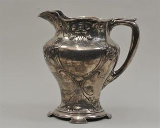 Athenic Silver Pitcher
