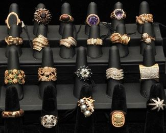 Over 100 lots of Fine Jewerly