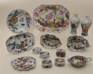 30 Pieces of Tobacco Leaf export porcelain