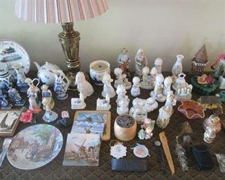 Delft items and Precious Moments