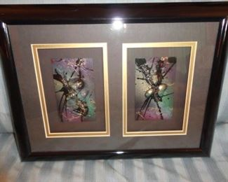 Framed art 3-D