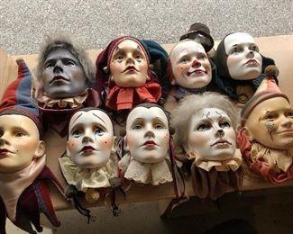 Ceramic faces