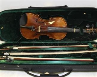 After Stradivarius Violin And Bows