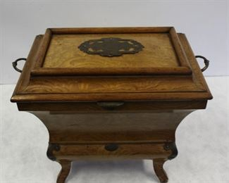 An Antique Austrian Jewelry Casket Signed