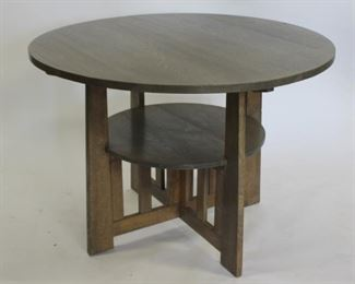 Arts And Crafts Mission Oak Table
