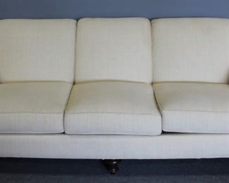 Cotton Upholstered Sofa