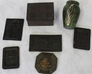 Collectible Lot Of Assorted Bronze Metal Items