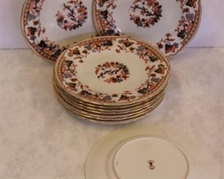 Group of Royal Crown Derby Plates For Tiffany