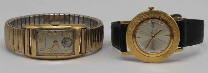 JEWELRY Gold Watches kt Lucien Piccard