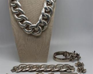 JEWELRY Grouping of Sterling Jewelry