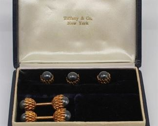 JEWELRY Schlumberger for TCo kt Gold Cufflinks