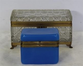 Large Baccarat Style Vanity Box Together