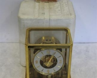 Le Coultre Atmos Clock Serial