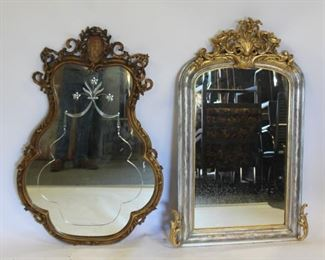 Lot Of Antique Mirrors