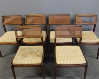 MIDCENTURY Jens Risom Playboy Chairs As Is
