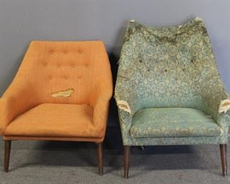 MIDCENTURY Upholstered Chairs