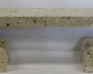 Neoclassical Style Custom Faux Finished Console