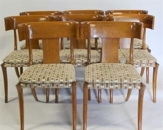 Set of Fine Quality Klismos Chairs After TH