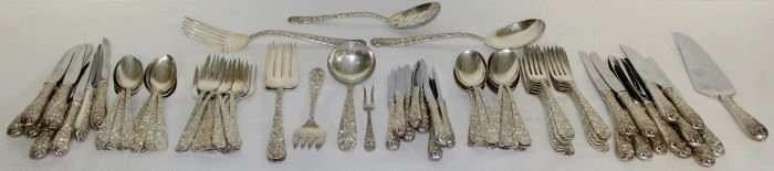 STERLING S Kirk Sterling Repousse Flatware