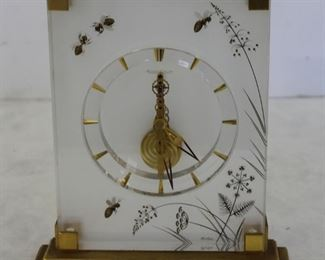 Vintage JaegerLe Coultre Marina Clock With Bees
