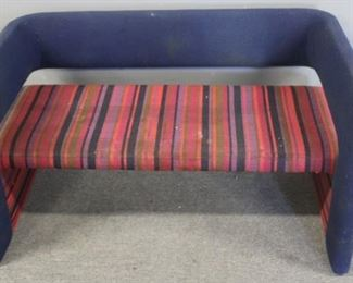 VINTAGE Memphis Upholstered Settee