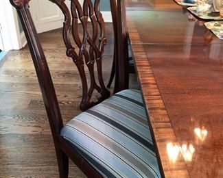 Six wide chairs
