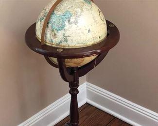 Standing globe