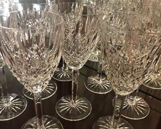 Castlemaine Waterford Cut Crystal - water goblets