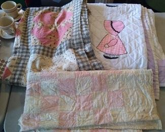 QUILT TOP- AND QUILT