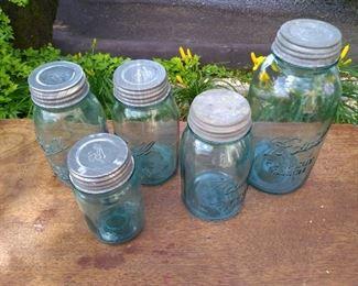 BLUE JARS/ 2 # 13 JARS