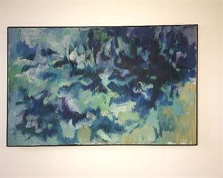 Original Oil Painting - Marilyn Derwenskus