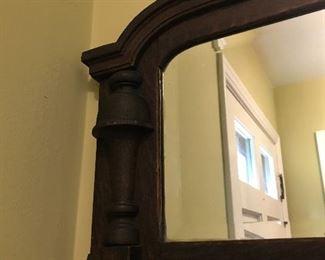 Entryway Mirror and Coat Hook
