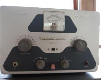 Heathkit transmitter model DX - 40