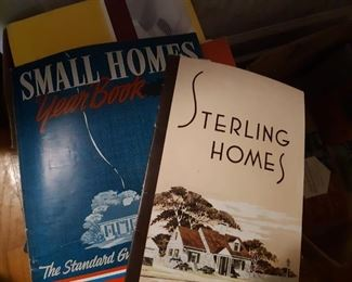 Old magazines, house building magazines, Life magazines, architecture magazines